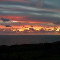 Blick von unserer Terrasse auf den Atlantik
