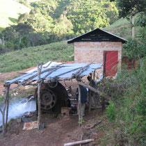 John Fute's alte Wasserrad-Anlage ...