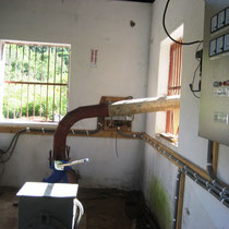 ...hier: Das neue Turbinen-Haus von innen
