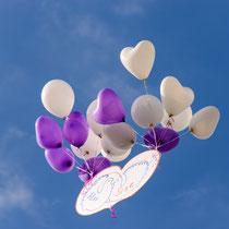 Ballon Aktion im Film und Foto