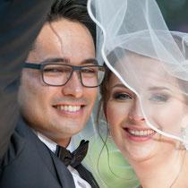 romatische Hochzeitsfotos