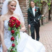 romatisches Hochzeitsbild