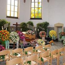 Beerdigungsbeispiele