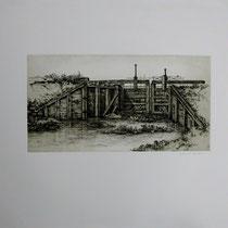 Alte Ruhrschleuse bei der Ruine Hardenstein