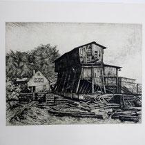 """Zeche """" Gideon """" in Vormholz um 1950"""
