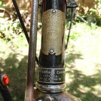 Cordes, Auf der Altstadt 35. das Rad wurde 1947 / 48 verkauft