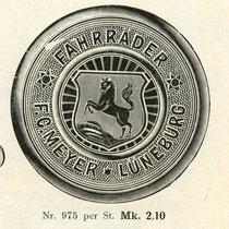 Klingeldeckel von 1914