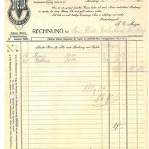 Rechnung von 1914