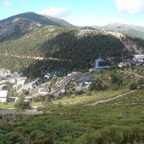 Vistas de la estación de Navacerrada