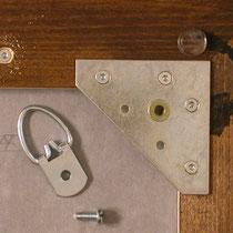 Depotschiebewand - Bildaufhänger mit D-Ringöse ergänzen