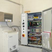 Moderne Microprozessorsteuerung mit Frequenzumrichter anno 2010