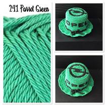 Parrot Green 241/ Schwarz
