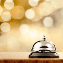 Wir bieten Ihnen guten Service im Hotel Elsen.