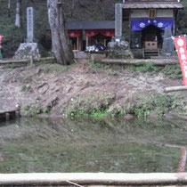 七面山山頂の二の池