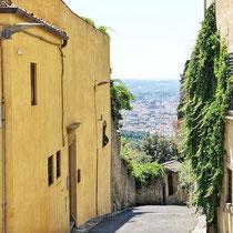 A street in Fiesole