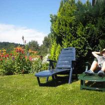 ****Ferienwohnung Haus Murachtal: Garten zum Entspannen