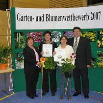 Goldmedaille im Garten und Bluenwettbewerb 2007