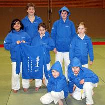 Von links: Harmit Hannemann, Jendrik Stoltz, Erik Gardt, Kevin Kanning, Ewa Faltin