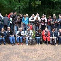 Affenpinschertreffen 2011, Gruppenfoto auf der Waldbühne