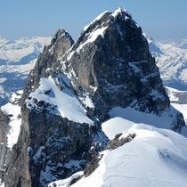Man beachte die sehr alpinen Spuren am Chly Wendenstock