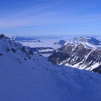 Aussicht in Richtung Luzern