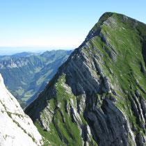 Der ebenso steile Nachbar: Dent de Brenleire
