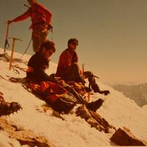 Auf dem Jungfrau-Gipfel, Juni 1986