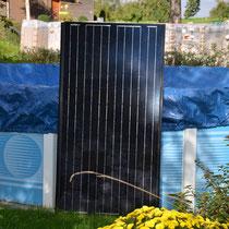 Unsere Solarzellen hat die Schweizer Firma Megasol geliefert