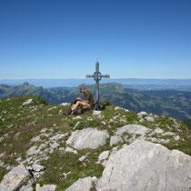 """Der Dent de Folliéran wird  auch als """"Matterhorn der Freiburger Alpen"""" bezeichnet"""
