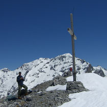 Auf dem Gipfel des Wissberg