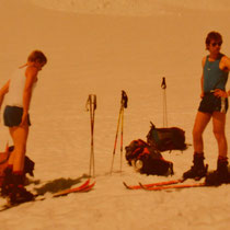 Man beachte die damalige Tourenmode....Juni 1986