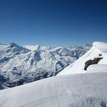 Gipfelwächte - links im Bild Gwächtehorn