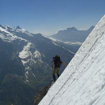 Abstieg vom Wissberg