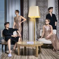 international Models - on location
