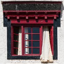 Ein typisch ladakhisches Fenster