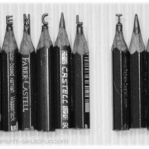 """Schriftzug """"Pencil Tip"""""""