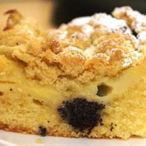 Pudding-Mohn-Kuchen