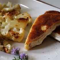 Kartoffel-Cordon-Bleu mit Frischkäse