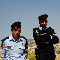 Jordanische Touristenpolizisten