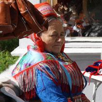 Lappenfrau aus Norwegen