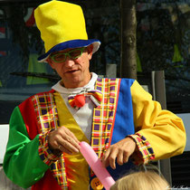 Clown in Oberfranken