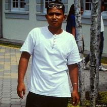 Malaie von der Insel Borneo