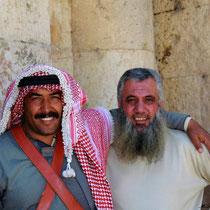 Zwei nette Jordanier