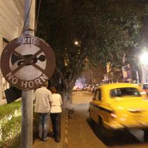 Vermutlich das am wenigsten beachtete Verkehrszeichen in Indien