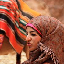 Frau aus Jordanien