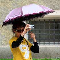 Japanische Touristin