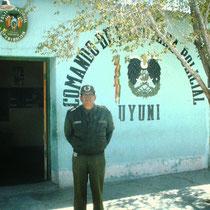 Der Polizeichef von Uyuni, Bolivien