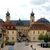 Balthasar-Neumann-Platz und Schloss Werneck