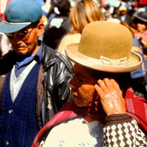 Indigena aus Bolivien