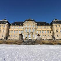 Schloss Werneck im Winter 2